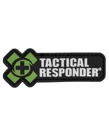 Tactical Responder - TR Logo Patch Oliv