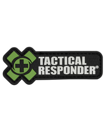 Tactical Responder - TR Logo Patch Olive