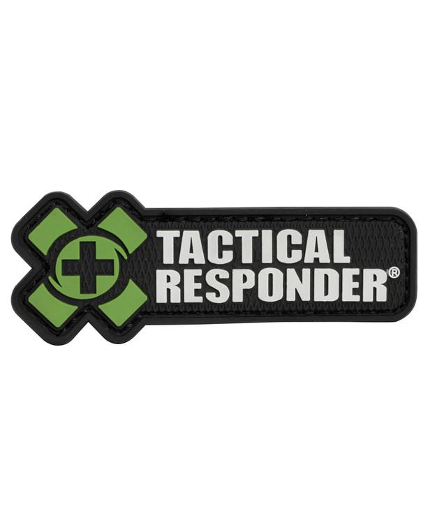Tactical Responder TR Logo Patch Olive