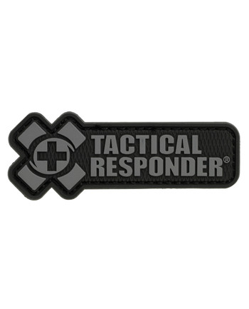 Tactical Responder - TR Logo Patch Black