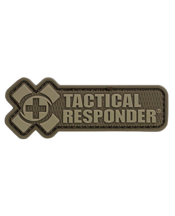 Tactical Responder - TR Logo Patch Desert