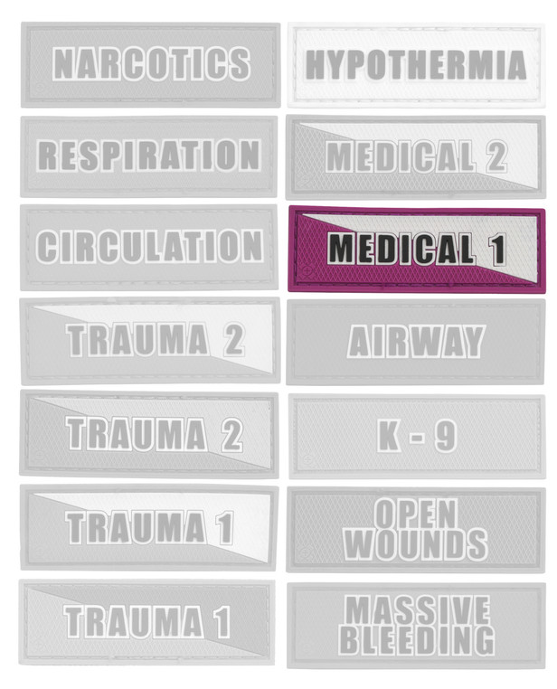 Tactical Responder Medical 1 Patch