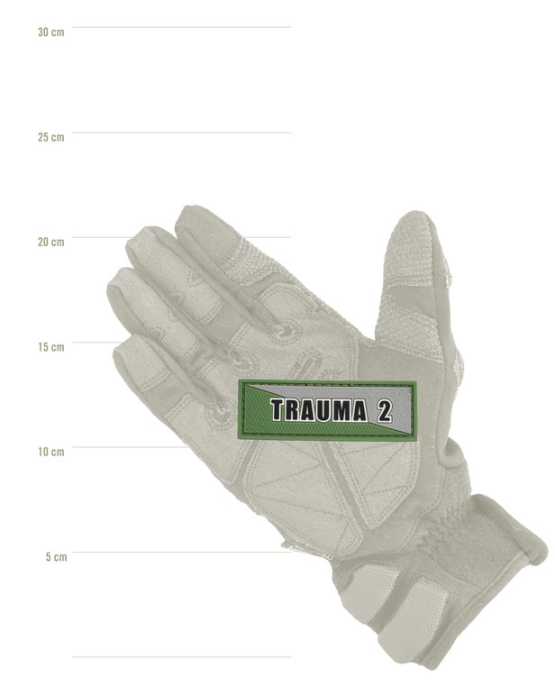 Tactical Responder Trauma 2 Green Grey Patch