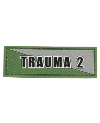 Tactical Responder - Trauma 2 Green Grey Patch