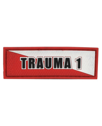 Tactical Responder - Trauma 1 White Red