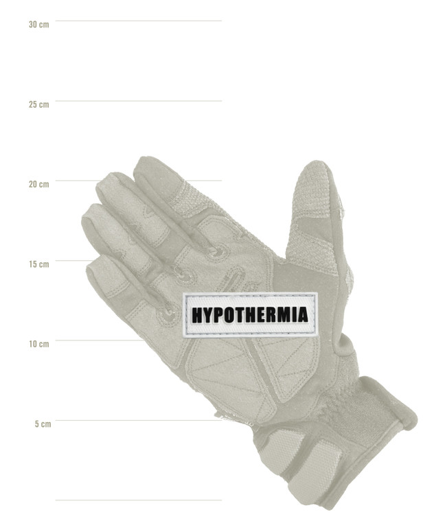 Tactical Responder Hypothermia Patch