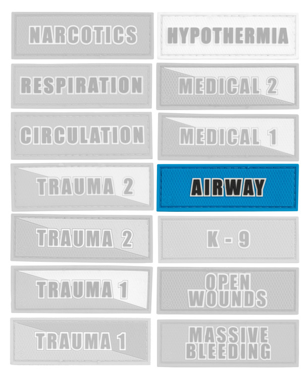 Tactical Responder Airway Patch