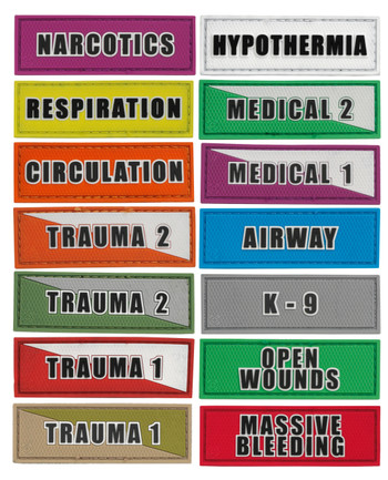 Tactical Responder - Medical Patches