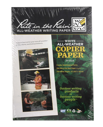 Rite in the Rain - All-Weather Copier Paper A3