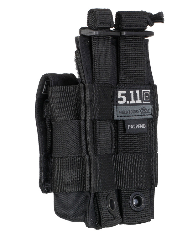 5.11 Tactical Double Pistol Bungee/Cover Black
