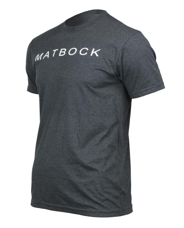 Matbock Short Sleeve T-Shirt Charcoal