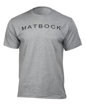 Matbock - Short Sleeve T-Shirt Heather Grey