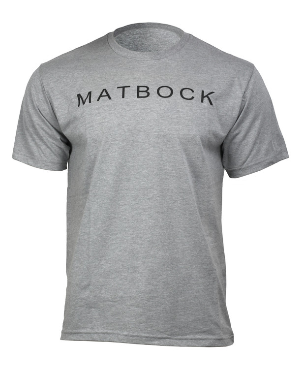 Matbock Short Sleeve T-Shirt Heather Grey
