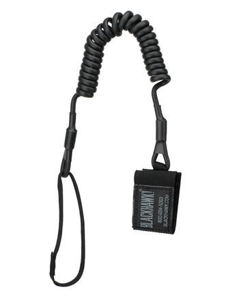 Blackhawk! - Tactical Pistol Lanyard Coil Black