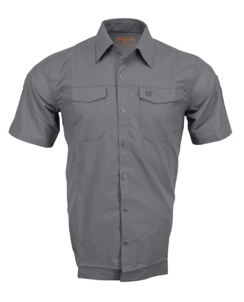 5.11 Tactical - Freedom Flex Woven Shirt Short Sleeve Storm