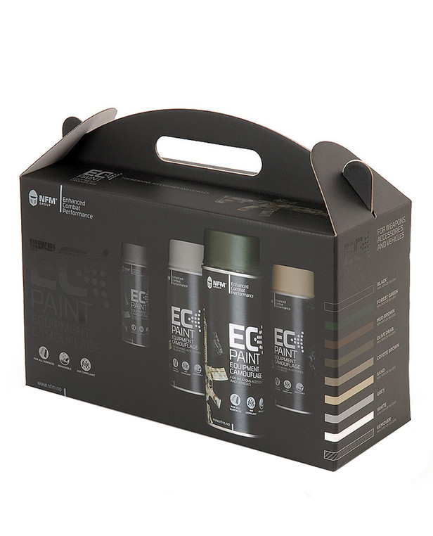 NFM EC Paint All-in-one Set 9 pieces
