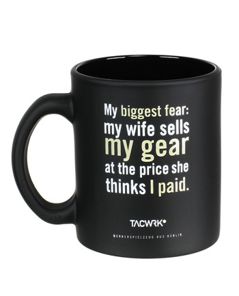 TACWRK - Tasse My Biggest Fear
