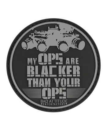 TACWRK - My OPS Are Blacker Patch