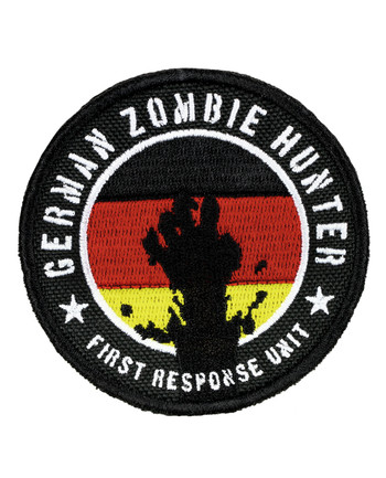 TACWRK - German Zombie Hunter Patch
