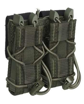 High Speed Gear - Belt Mounted Double Pistol TACO OD Green