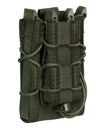 High Speed Gear - Belt Mounted Double Decker TACO OD Green
