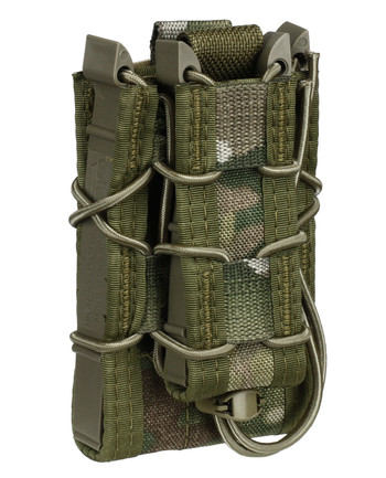 High Speed Gear - Belt Mounted Double Decker TACO Multicam