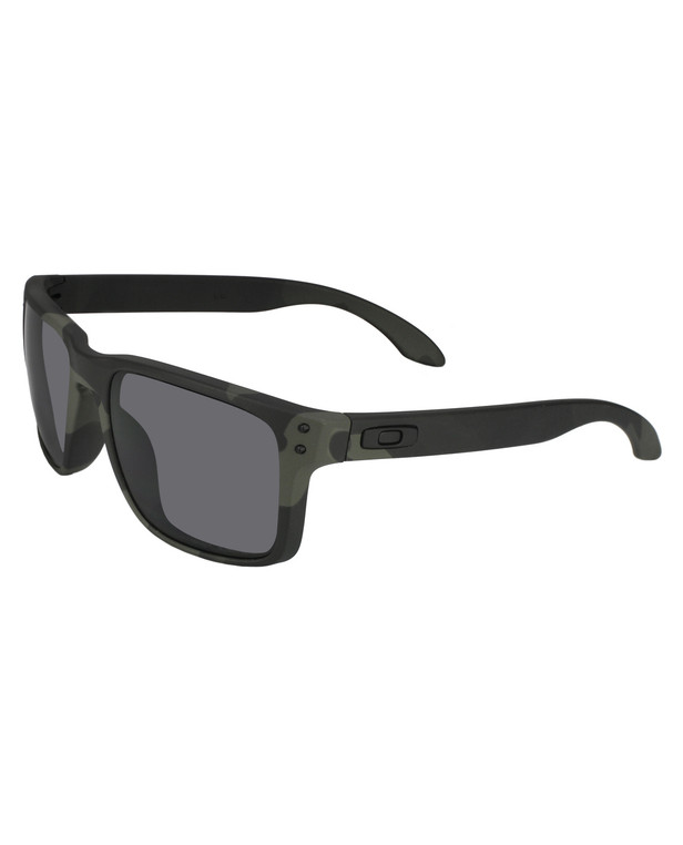 Oakley Holbrook Multicam Black Polarized Grey
