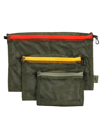 TASMANIAN TIGER - Mesh Pocket Set Olive