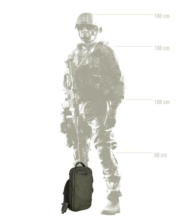 TASMANIAN TIGER TT Medic Assault Pack MKII Oliv