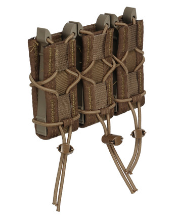 High Speed Gear - Triple Pistol TACO Molle Coyote Braun