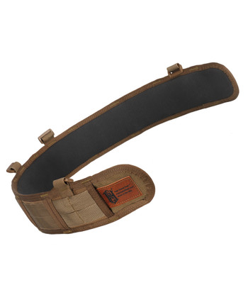 High Speed Gear - Slim Grip Padded Belt Slotted Coyote Braun