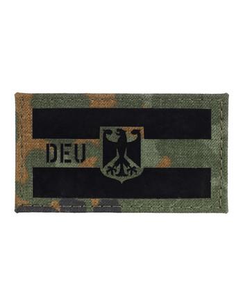 TACWRK - Deutschland Flagge Camo 5FT, Folie: IR SOLAS