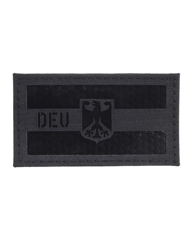 TACWRK Deutschland Flagge Camo: Black, Folie: IR SOLAS