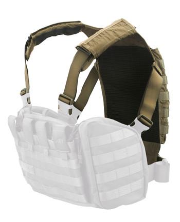 TASMANIAN TIGER - Rückenplatte Trooper Back Plate Khaki