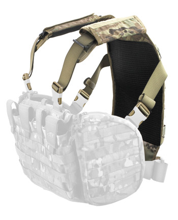 TASMANIAN TIGER - Rückenplatte Trooper Back Plate Multicam