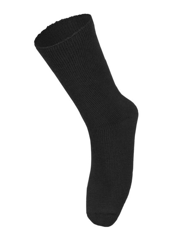 Woolpower Socks 600 Black Schwarz
