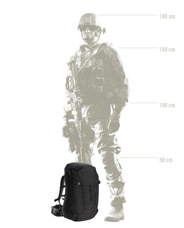 Arc'teryx LEAF Assault Pack 45 Black