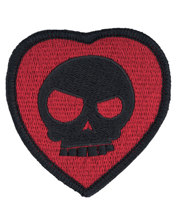 Triple Aught Design - Mean T-Skull Bloody Valentine Patch Black