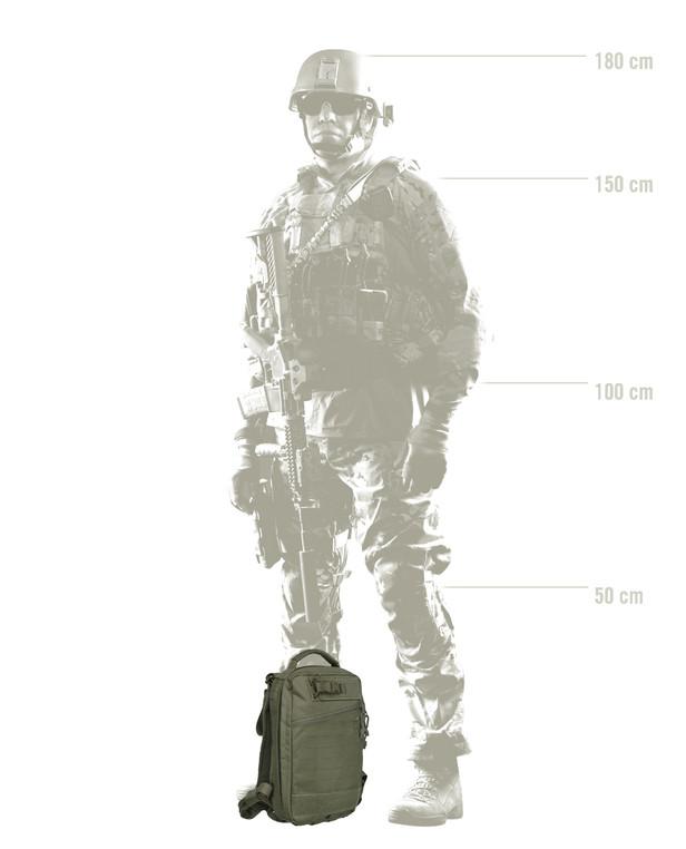 TASMANIAN TIGER TT Medic Assault Pack MKII S Olive