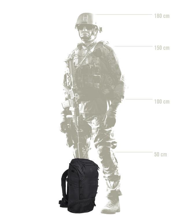 TASMANIAN TIGER TT Tac Modular Pack 30 Vent Black Schwarz