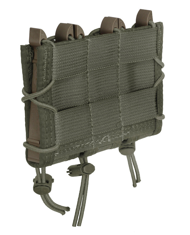 High Speed Gear Triple Pistol TACO Molle Olive Drab