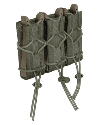 High Speed Gear - Triple Pistol TACO Molle Olive Drab