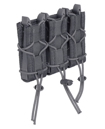 High Speed Gear - Triple Pistol TACO Molle Wolf Gray