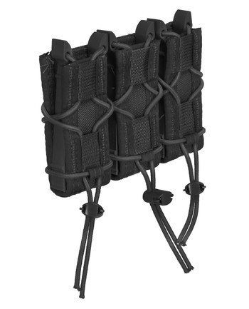 High Speed Gear - Triple Pistol TACO Molle Black Schwarz