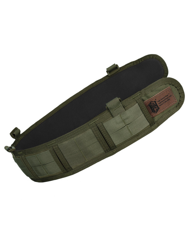 High Speed Gear Slim Grip Padded Belt Slotted Olive Drab