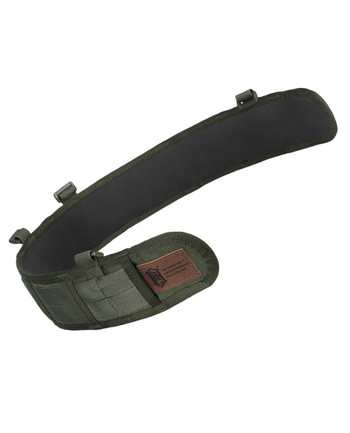 High Speed Gear - Slim Grip Padded Belt Slotted Olive Drab