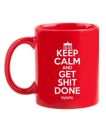 TACWRK - Tasse Keep Calm Rot
