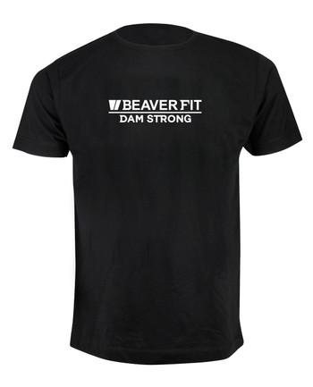 BeaverFit - T-Shirt Dam Strong black