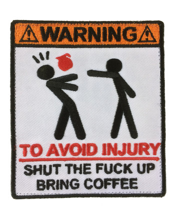 md-textil - Patch Coffee or injury