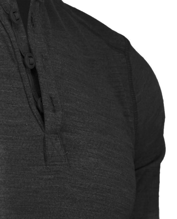 Triple Aught Design Huntsman 200 Henley Black Schwarz